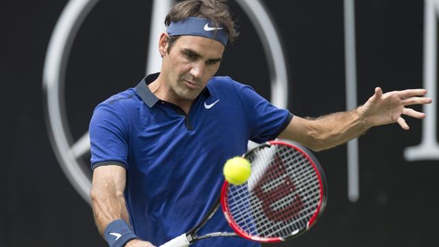 Rekordsieger Federer im Viertelfinale
