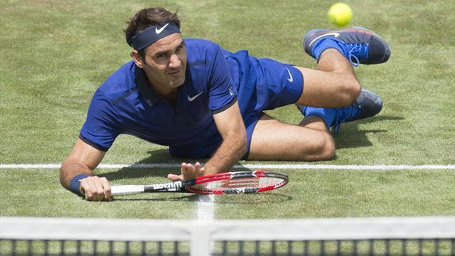 Федерер проиграл Тиму полуфинал турнира в Штутгарте