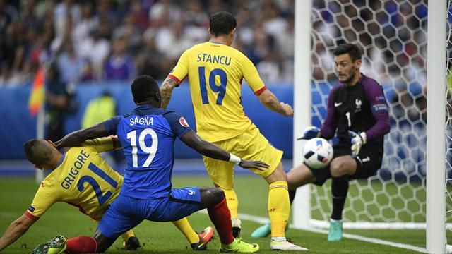 3 minutes après le début de l'Euro, Lloris avait déjà signé un miracle