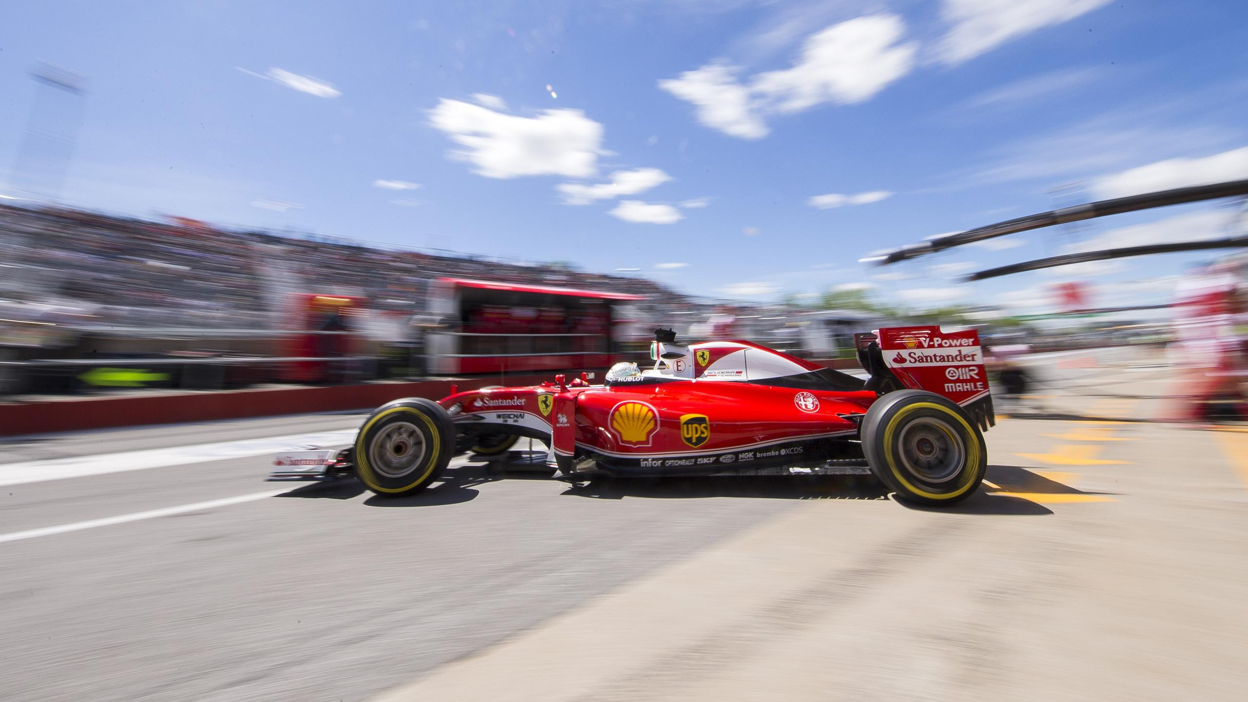 Sebastian Vettel (Ferrari) au Grand Prix du Canada 2016