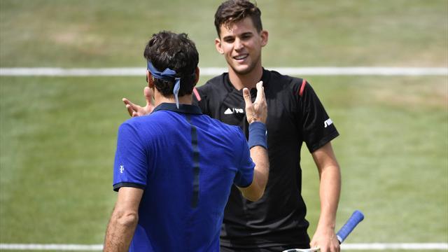 Deux balles de match n'ont pas suffi à Federer : les temps forts de sa défaite face à Thiem