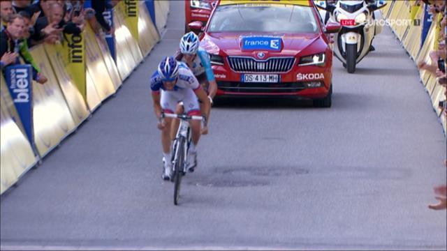 Dauphiné: Victoria de Pinot y Froome aleja un poco más a Contador