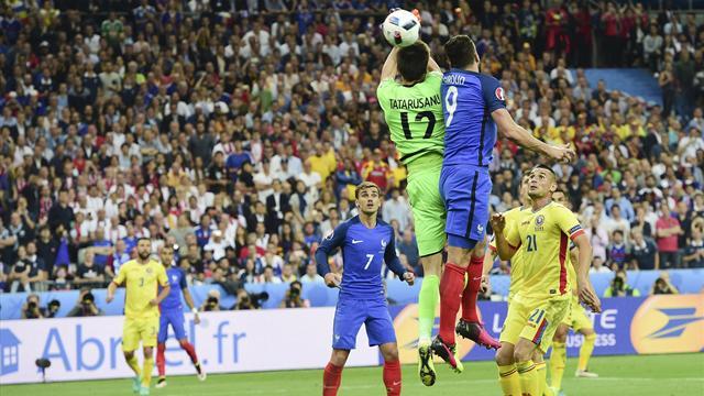 Giroud sur son but : «Quand je vois le ralenti, je me dis que ça peut se siffler»