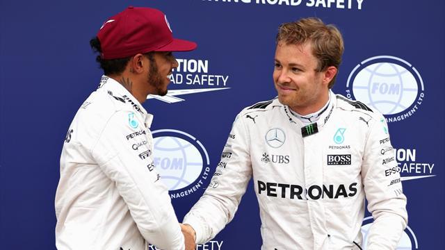 """Hamilton : """"Mon respect envers Rosberg est plus fort que jamais"""""""