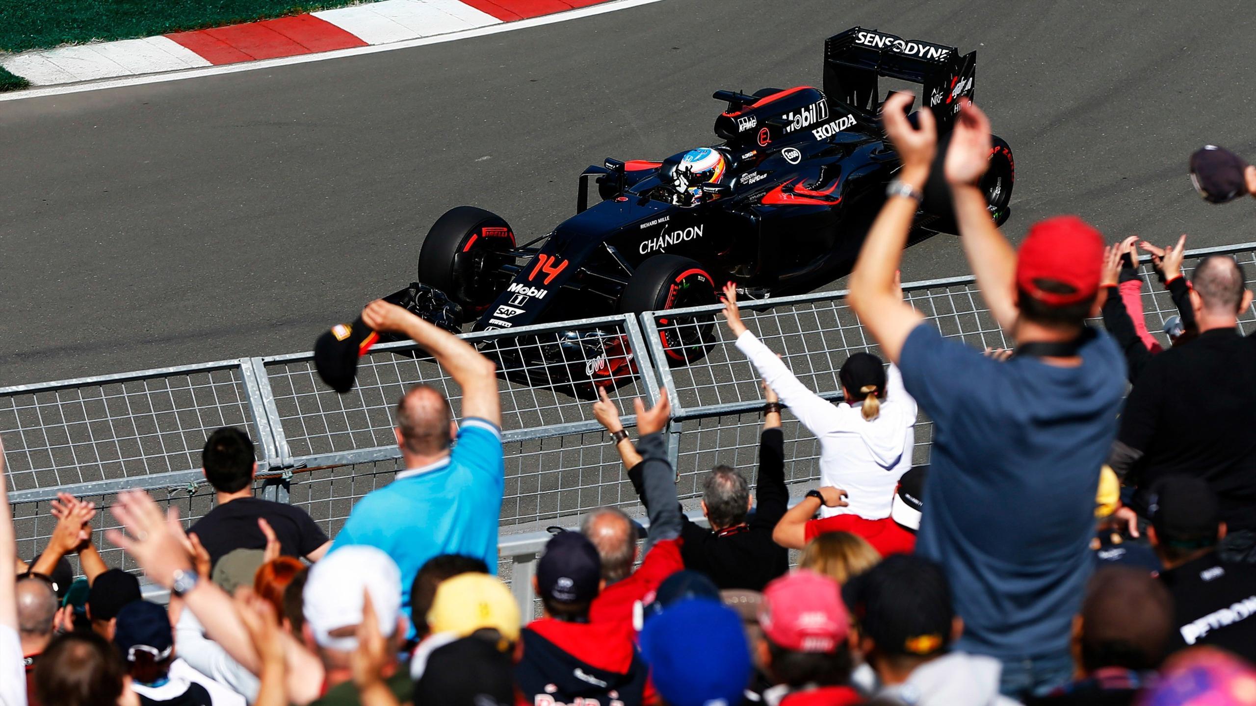 Fernando Alonso (McLaren) au Grand Prix du Canada 2016