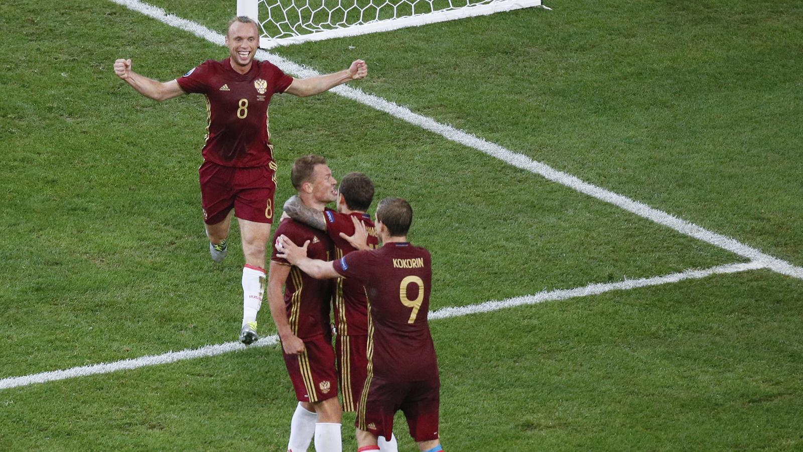 Euro 2016 the key moments that decided england v russia - University league tables french ...