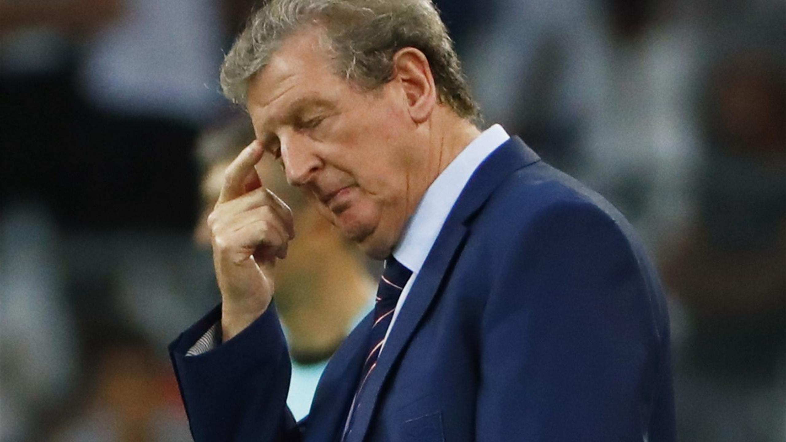 England head coach Roy Hodgson - does he face a stressful night against Slovakia?