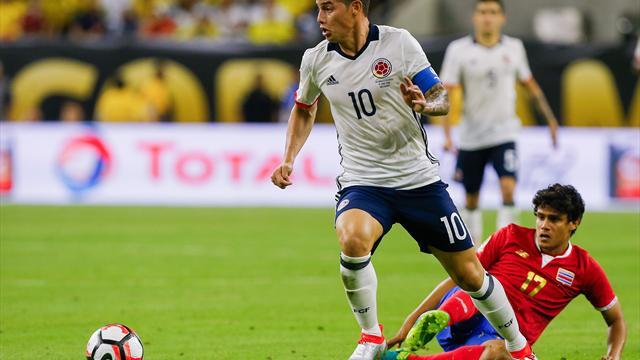 Espagne-Colombie, ou la revanche de James Rodriguez