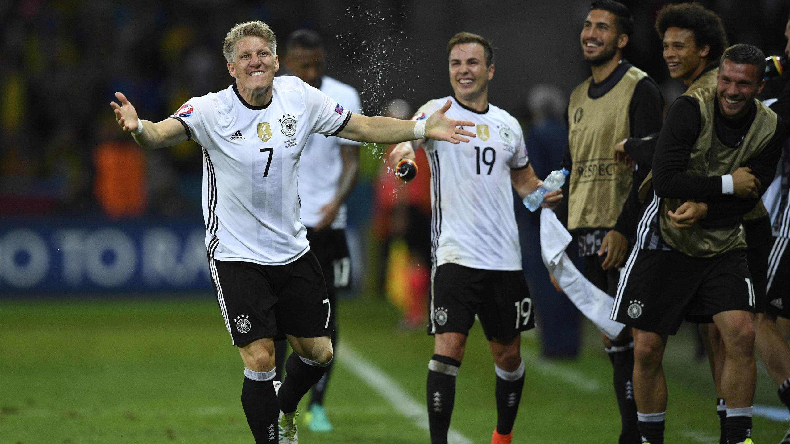 Bastian Schweinsteiger, Germany, Ukraine