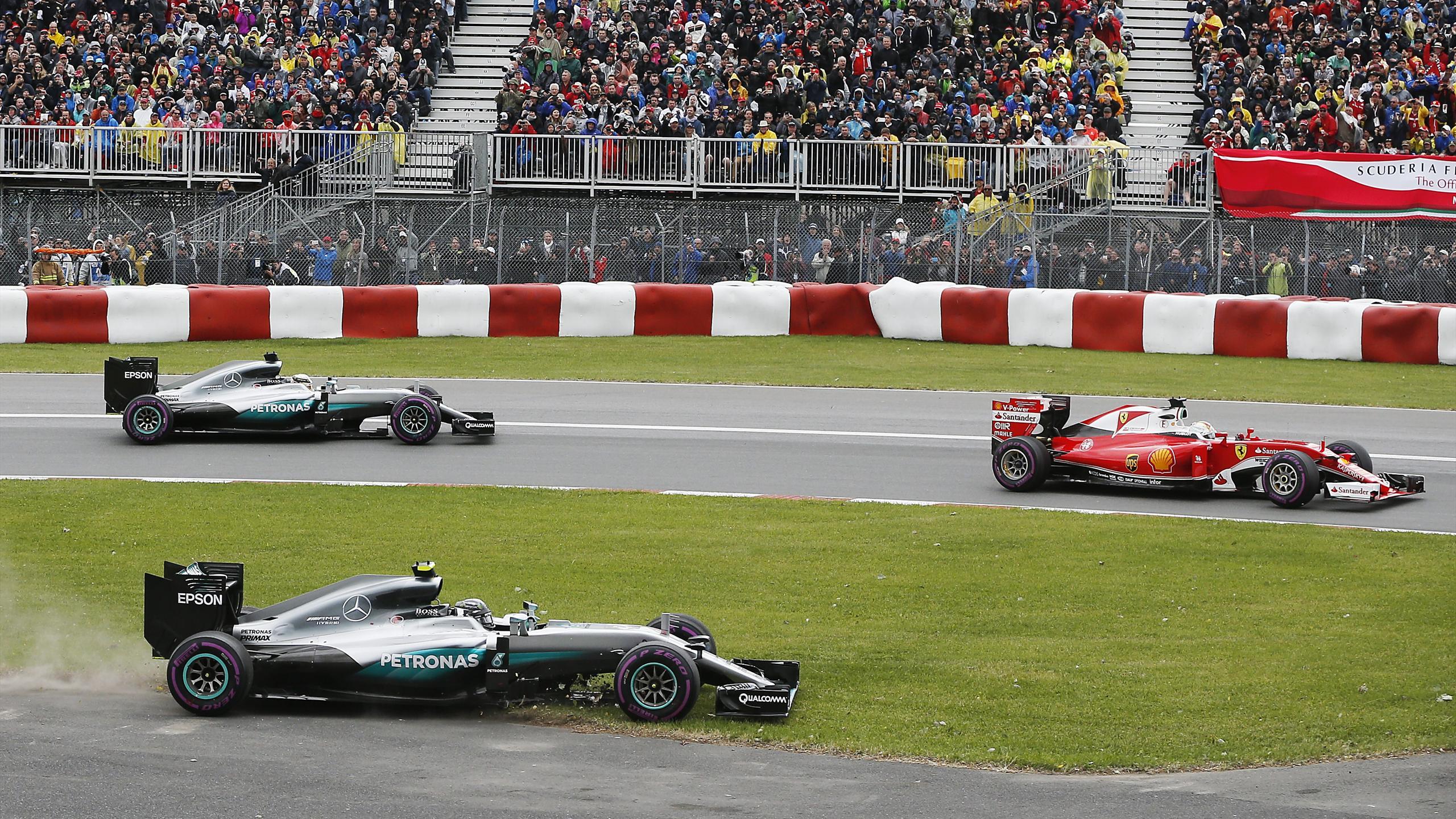 Nico Rosberg (Mercedes) au Grand Prix du Canada 2016