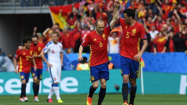 Avec son magicien Iniesta, l'Espagne a de belles heures devant elle