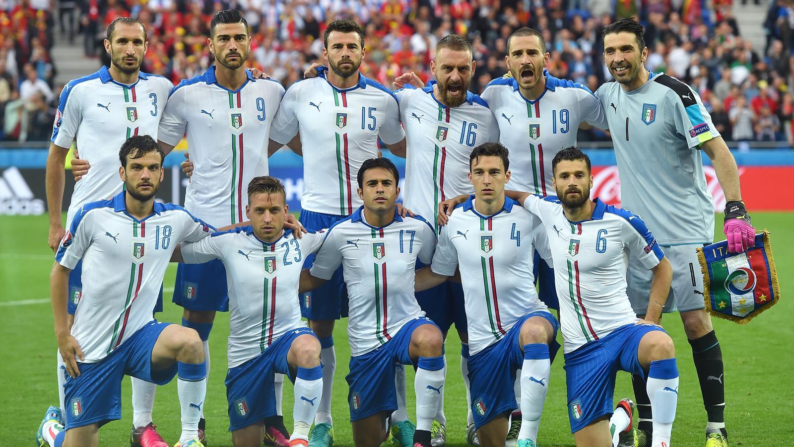 Belgien Vs Italien