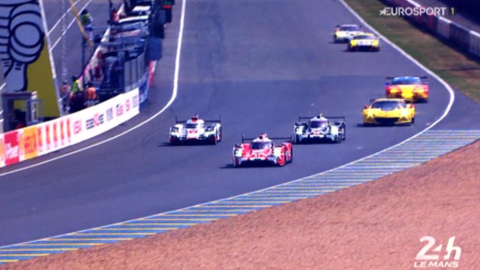 ... moments de l'édition 2015 - 24 Heures du Mans - Video Eurosport