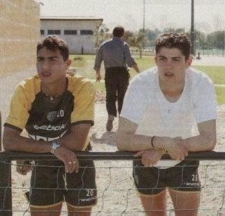 Quaresma-Ronaldo-SCP-Training
