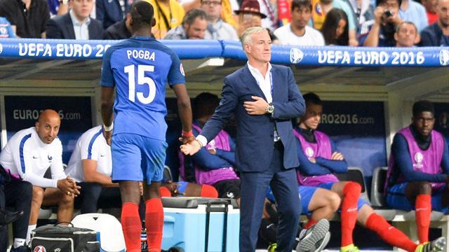 Deschamps : «L'attente est trop grande autour de Pogba»