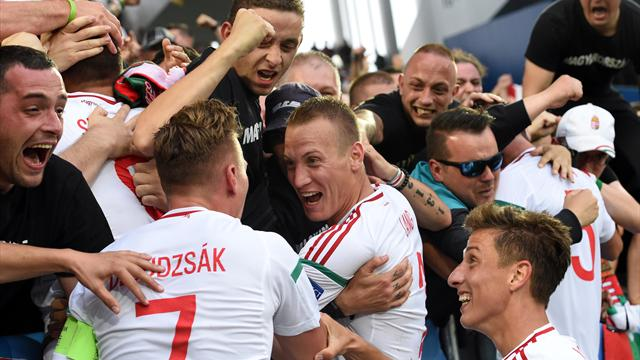 Hungary overcome Austria in winning Euro return after 44 years