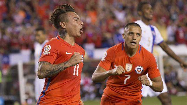 Holders Chile join group winners Argentina in Copa America Centenario knock-out stage