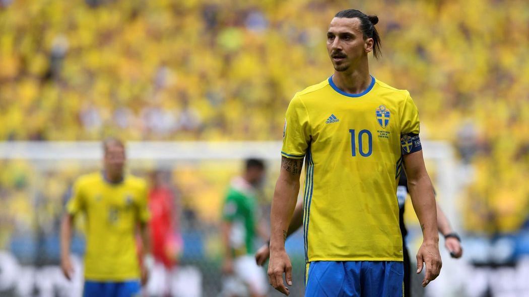 Zlatan Ibrahimovic In Schwedens Vorläufigem Olympia Kader Em 2016