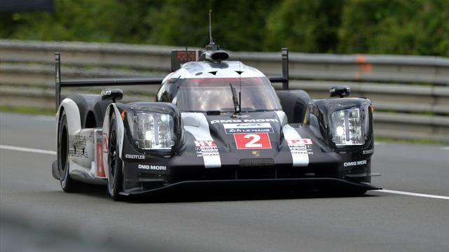Porsche claim practice 1-2 ahead of Le Mans 24 Hours