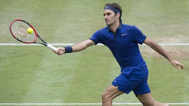 Federer écarte Goffin et se qualifie pour les demies