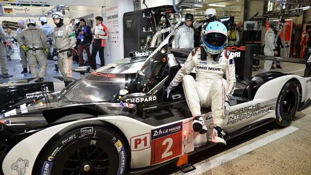 Porsche lock out front row in first provisional qualifying at Le Mans