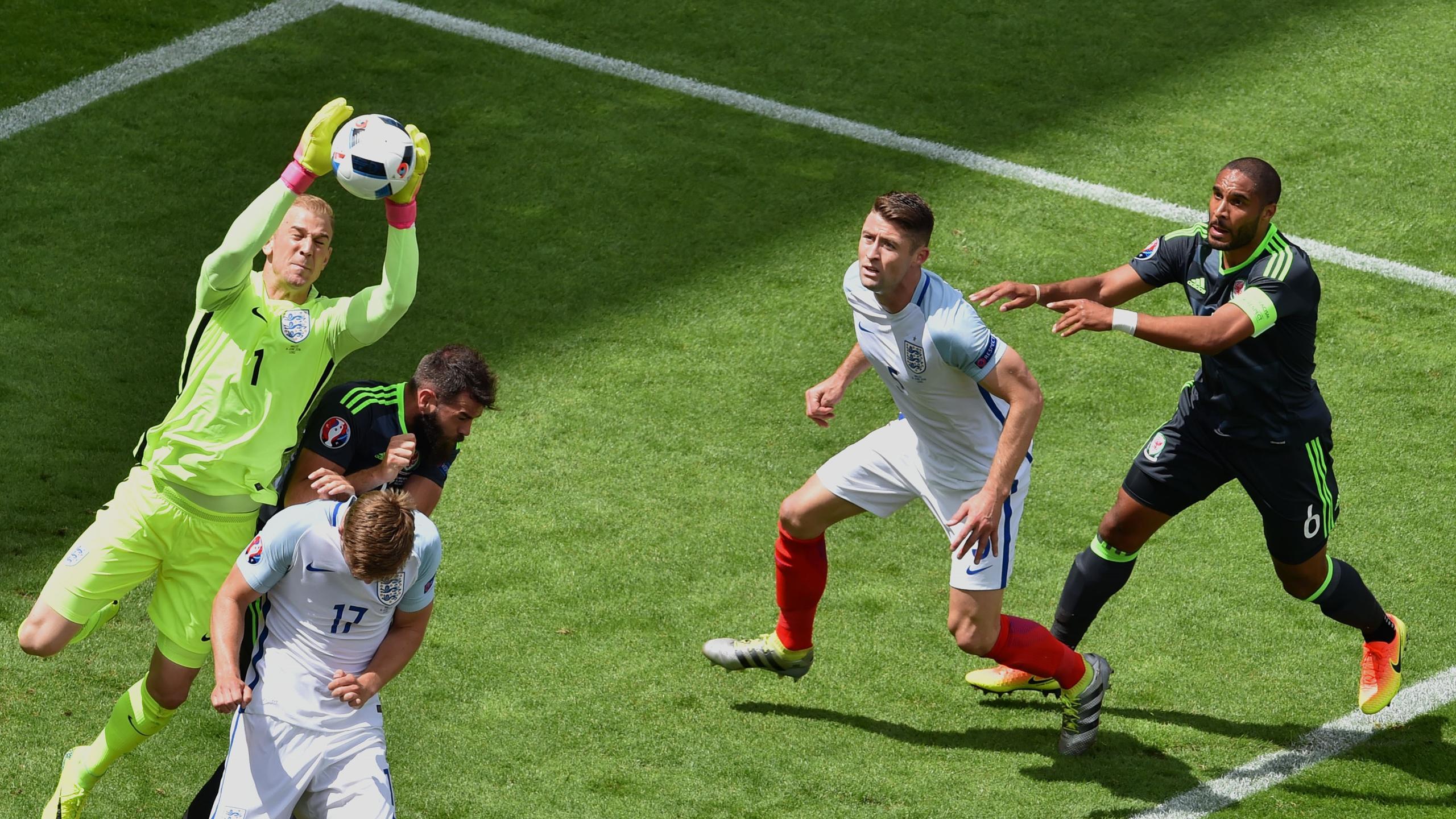 Джо Харт, Англия – Уэльс, Евро-2016
