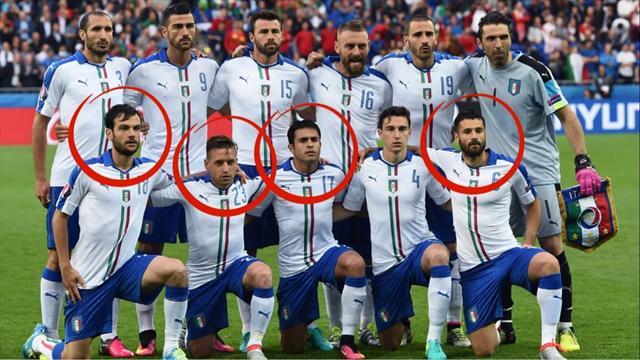 De Cesena à la Squadra Azzurra : les retrouvailles inattendues de quatre joueurs italiens