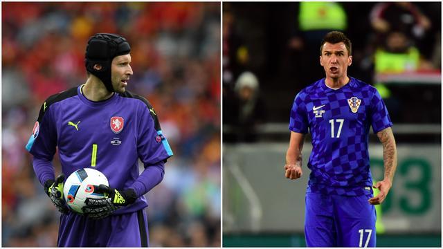 Cech-Mandzukic, deux géants mais une seule ambition : les 8es de finale