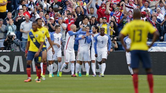 Copa America'da ilk yarı finalist ABD