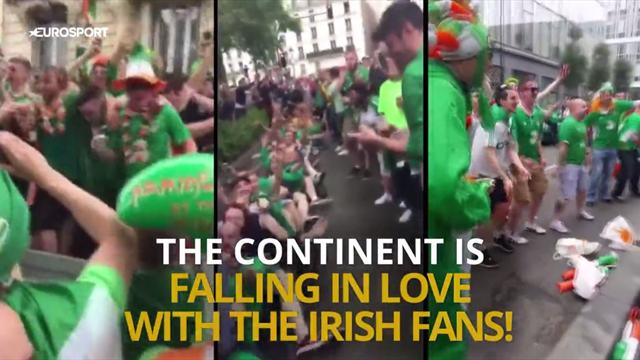 Why everyone fell in love with Ireland's fans at Euro 2016