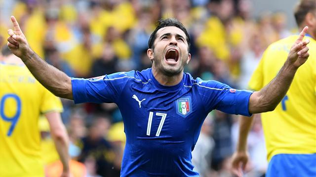 Eurocopa 2016, Italia-Suecia: Éder da el pase a octavos en el 88' (1-0)