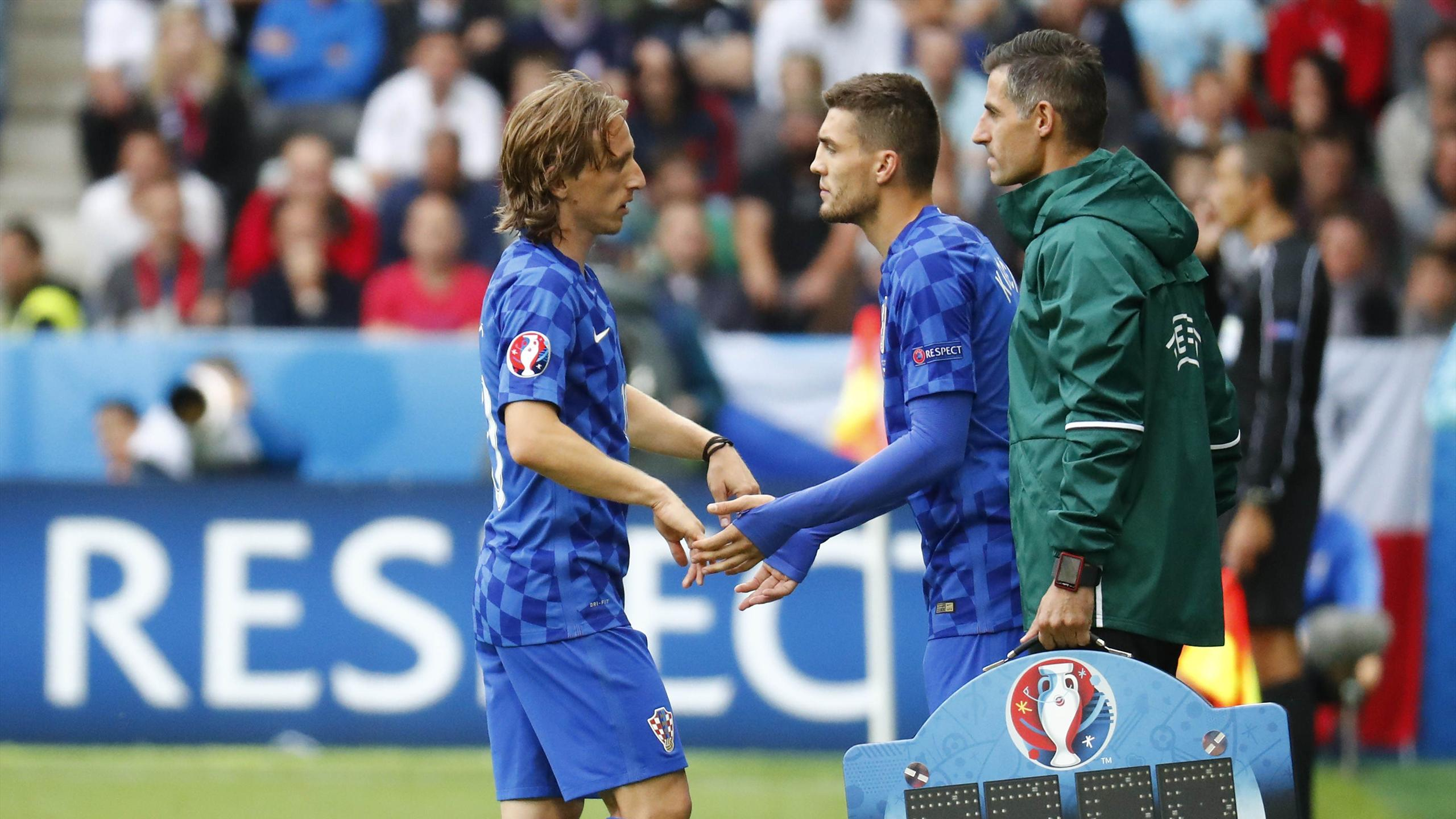 Luka Modric (Croatie), sorti contre la République tchèque