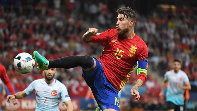 Ramos dépasse Xavi et devient le joueur de champ espagnol le plus capé