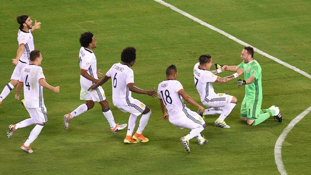 Héroïque, Ospina envoie la Colombie dans le dernier carré