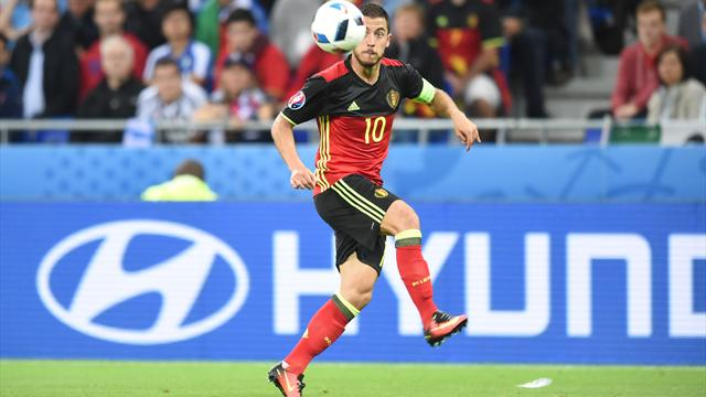 Coup dur pour Hazard, victime d'une fracture de la cheville droite