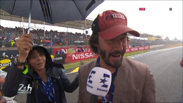 Keanu Reeves brings star quality to Le Mans