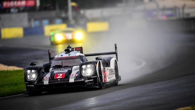 Le départ a été donné au Mans : sous la pluie et derrière la safety car