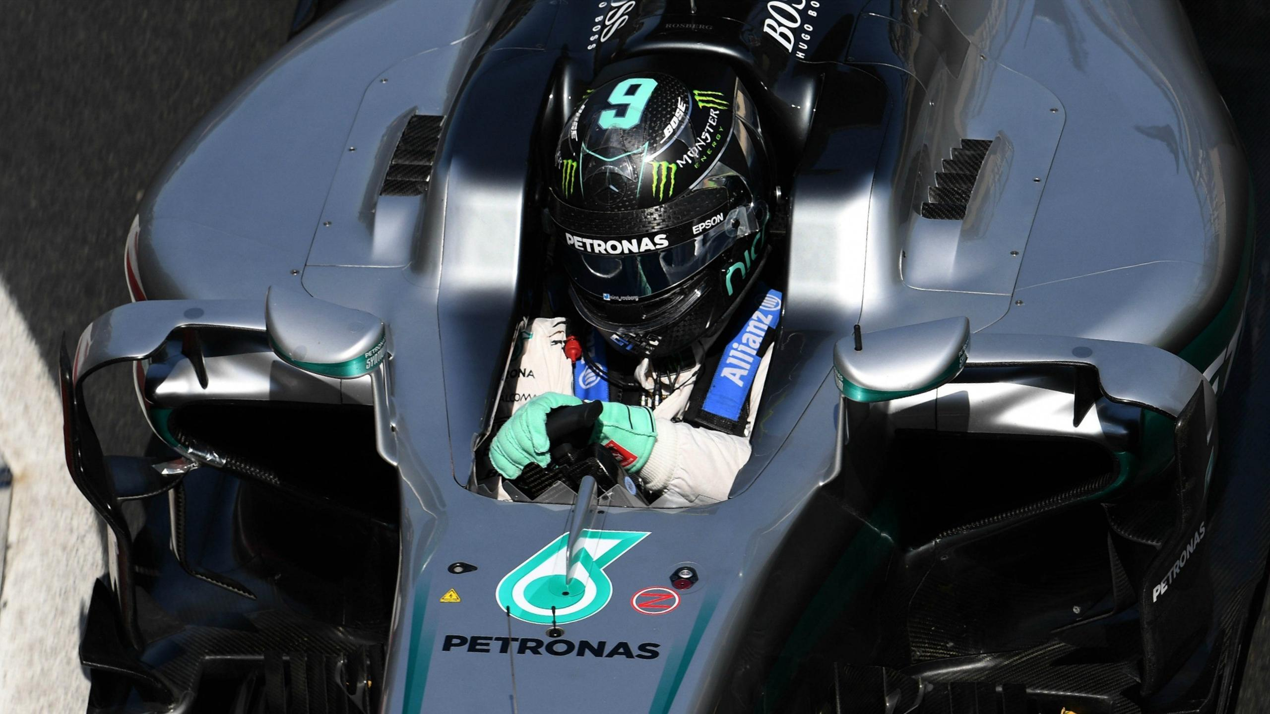 Nico Rosberg (Mercedes) au Grand Prix d'Europe 2016