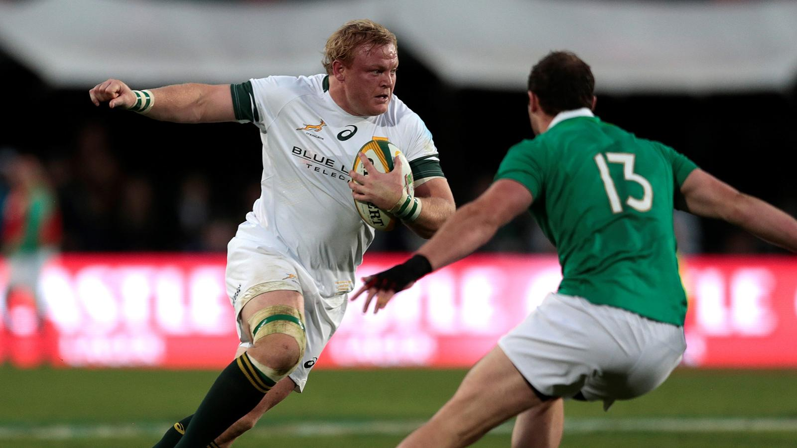 Adriaan Strauss (Afrique du Sud) face à l'Irlande - 18 juin 2016