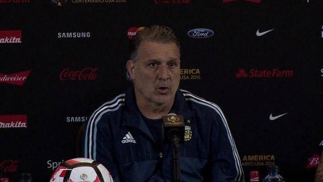 Martino previews Venezuela match, with Messi set to start