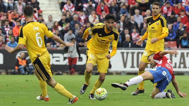 Osasuna gana al Girona (0-1; global, 1-3) y asciende a Primera División