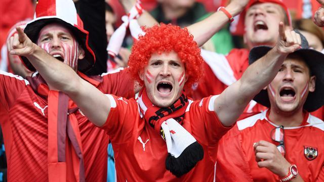 Pour chambrer Ronaldo, les supporters autrichiens ont chanté à la gloire de Messi