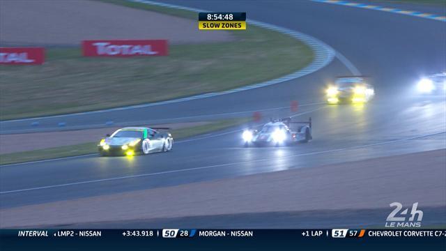 La nuit a été chaude entre la Porsche et les deux Toyota : le point au matin en vidéo