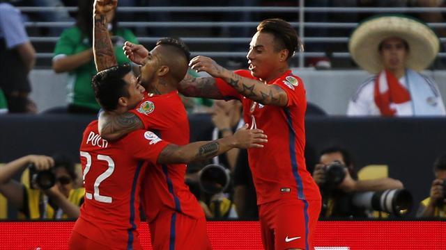 Poquér de Vargas y sonrojante derrota de México ante Chile (0-7)