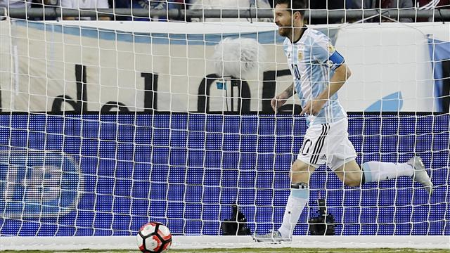 Messi alcanza a Batistuta como máximo goleador histórico de Argentina