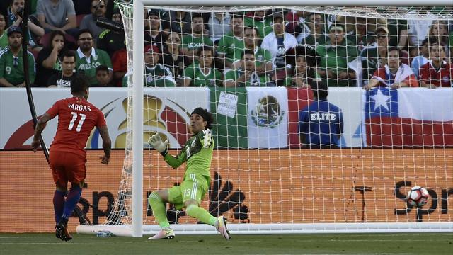 Vidal, Sanchez et Vargas allaient beaucoup trop vite pour le Mexique : le résumé du 7-0