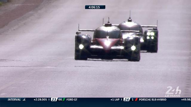 Toyota overtakes Porsche to snatch Le Mans lead