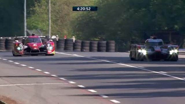 Et pendant ce temps-là, Audi avance au ralenti...