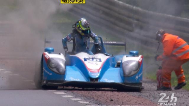 Le Mans 24 Saat: Ines Tattinger'in tehlikeli anları