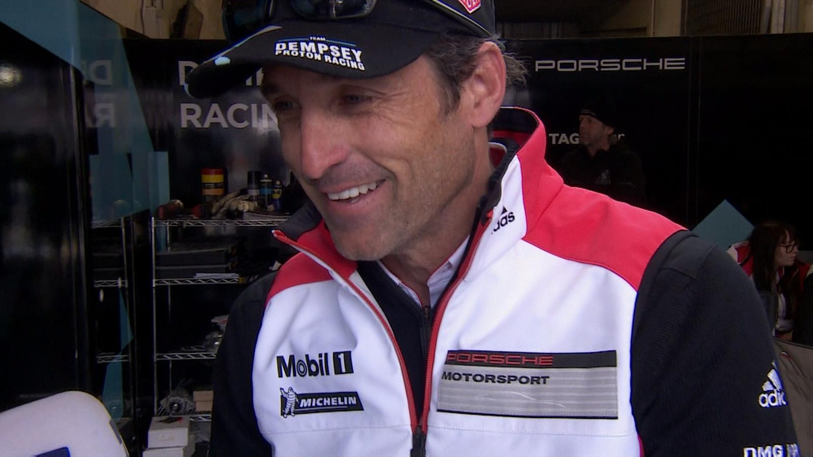 Le Mans Hollywood Star Patrick Dempsey Im Interview